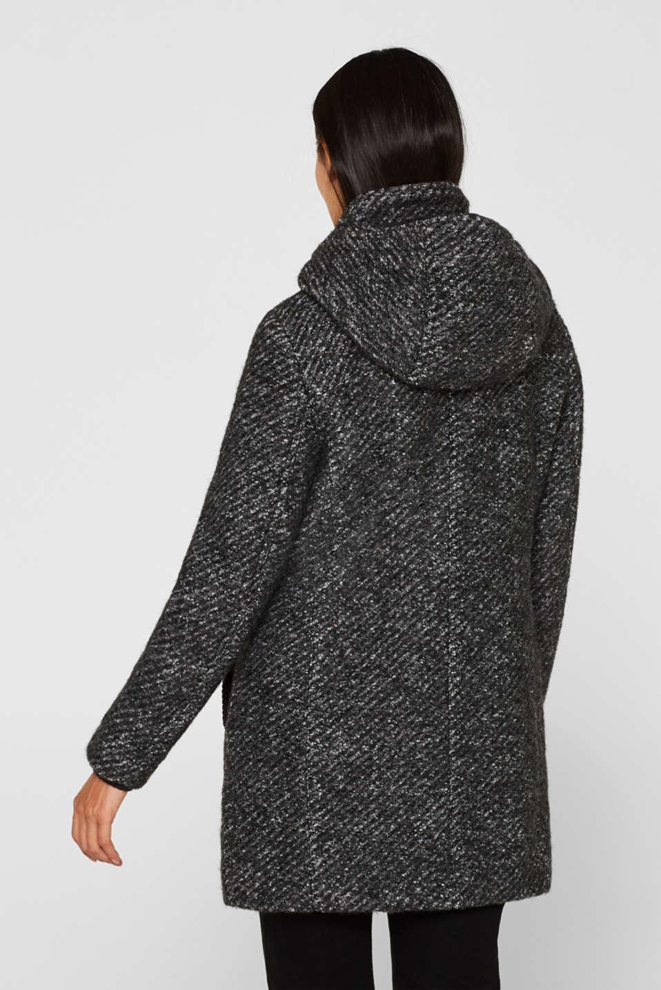 Coats woven, DARK GREY 5, detail image number 3
