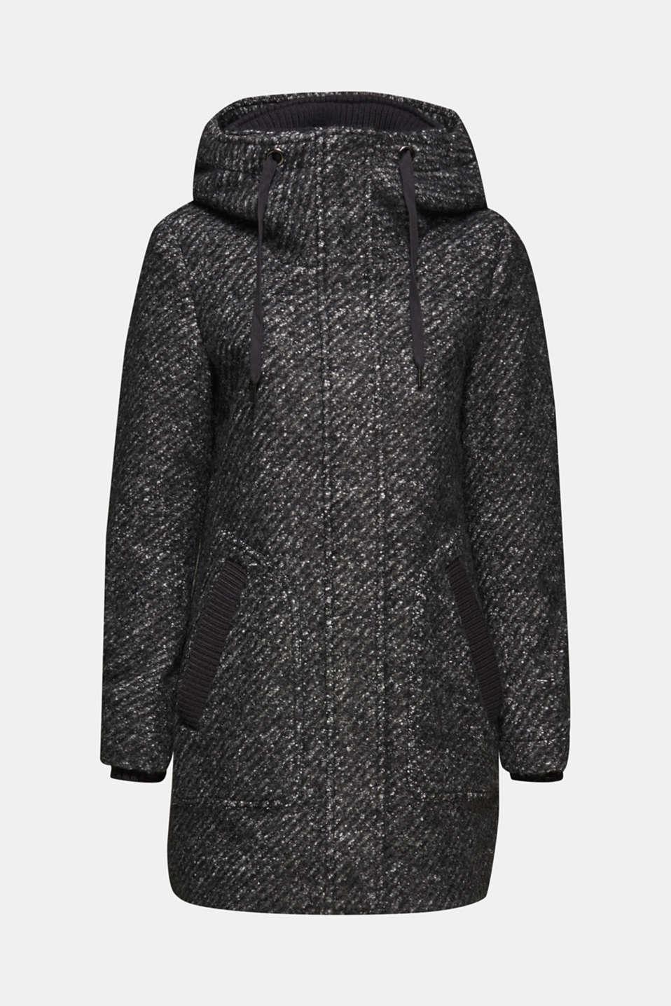 Coats woven, DARK GREY 5, detail image number 5
