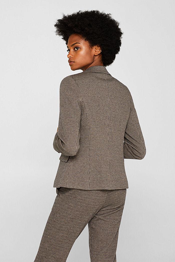 JERSEY SUIT mix + match stretch blazer, CAMEL, detail image number 3