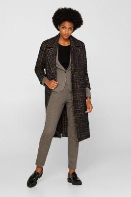 JERSEY SUIT mix + match stretch blazer, CAMEL, detail