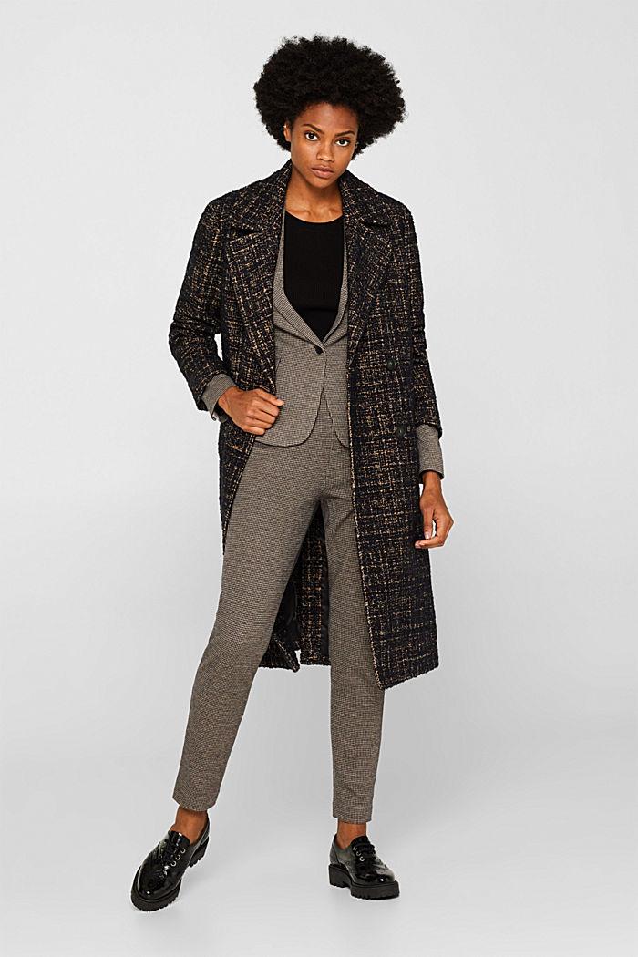 JERSEY SUIT mix + match stretch blazer, CAMEL, detail image number 1
