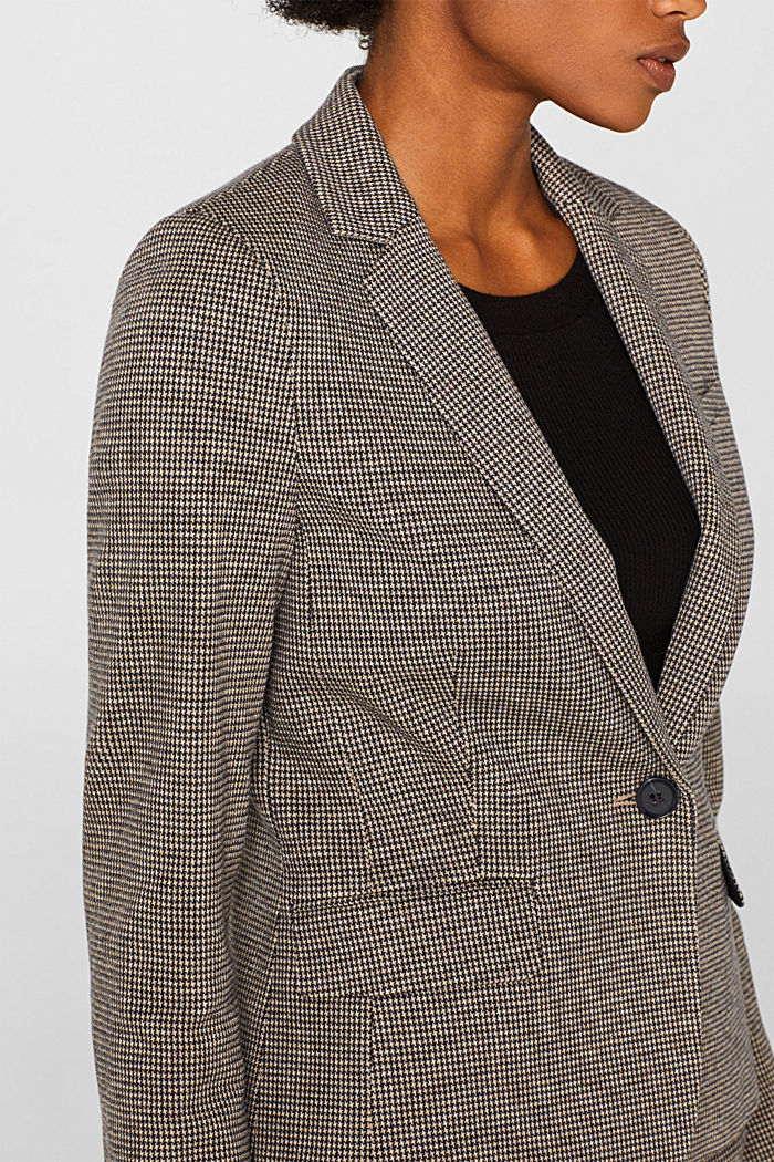 JERSEY SUIT mix + match stretch blazer, CAMEL, detail image number 2