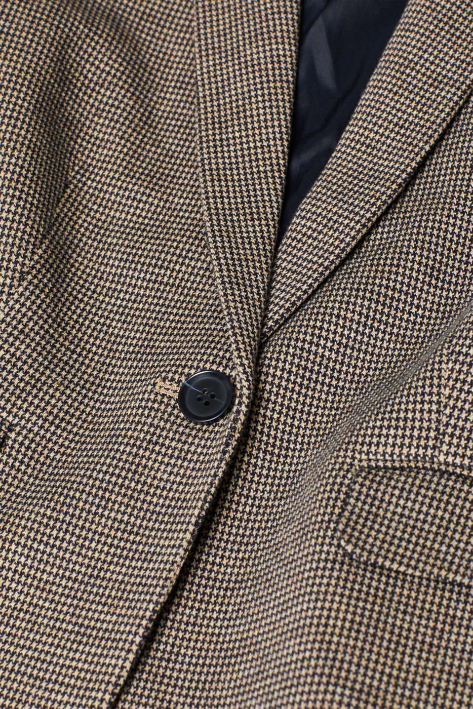 Blazers woven, CAMEL, detail image number 4