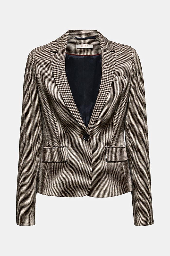 JERSEY SUIT mix + match stretch blazer, CAMEL, detail image number 5