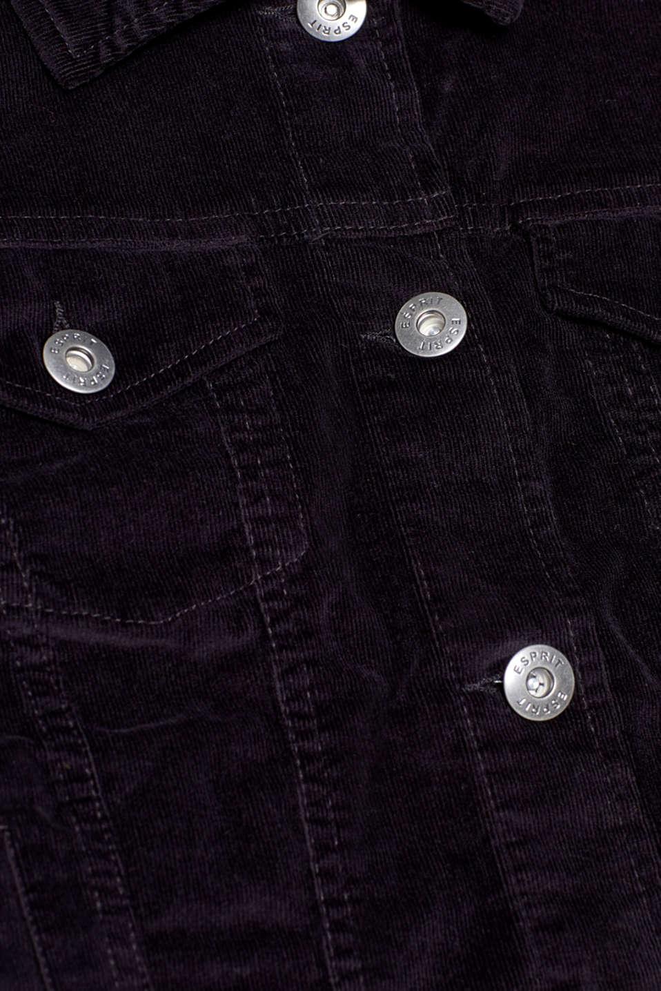 Jackets indoor woven, BLACK, detail image number 4