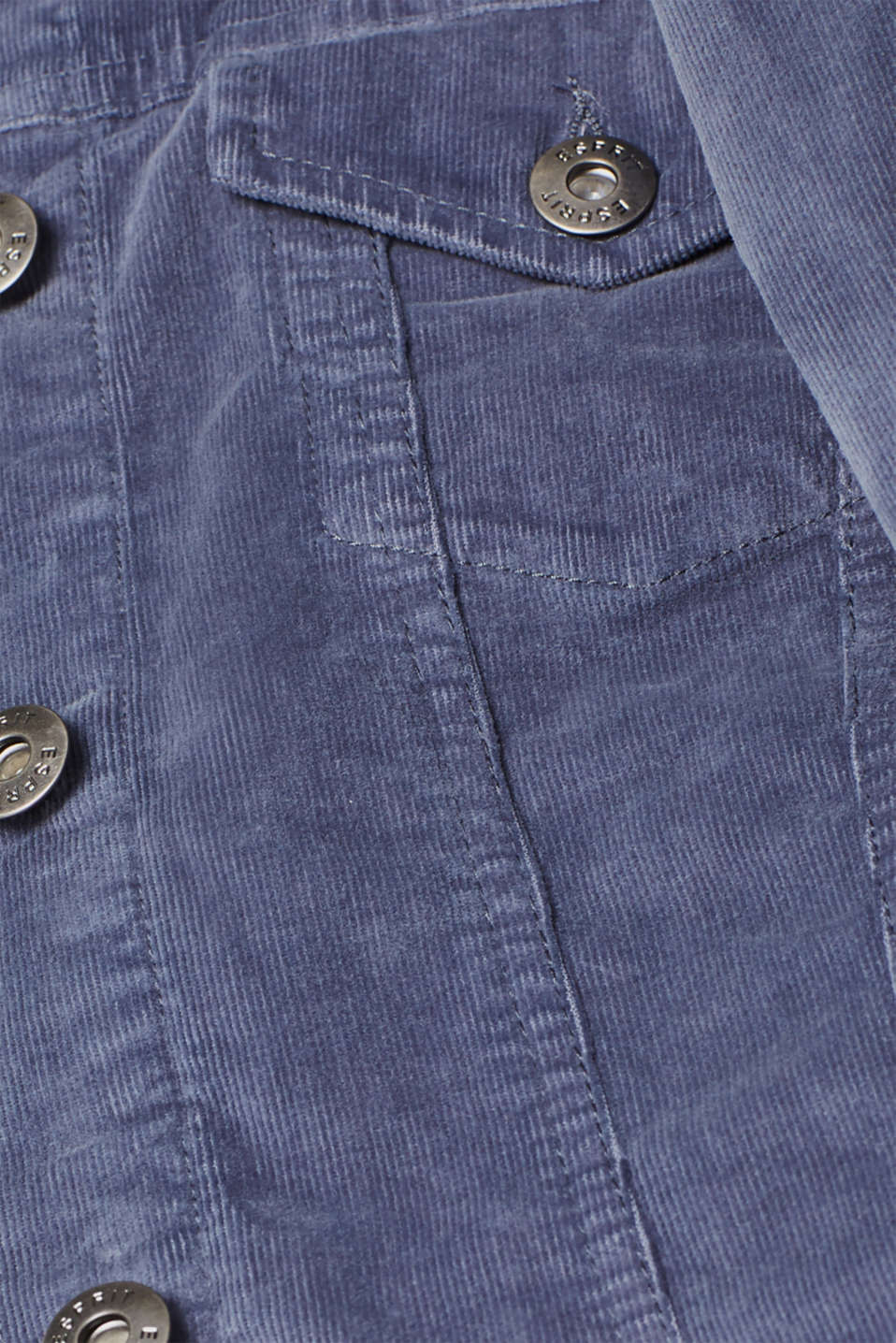 Jackets indoor woven, GREY BLUE 2, detail image number 4
