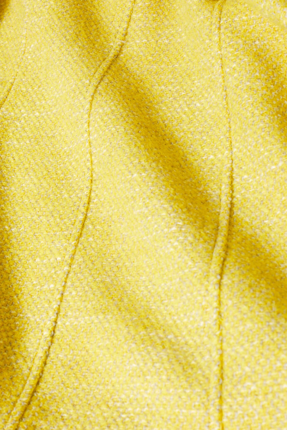 Coats woven, BRIGHT YELLOW 5, detail image number 4
