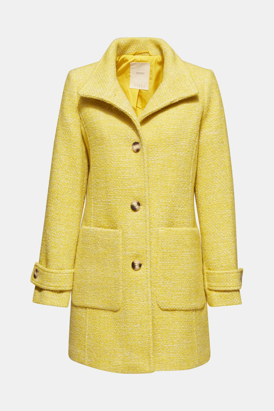 Coats woven, BRIGHT YELLOW 5, detail image number 7