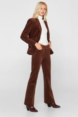CORD mix + match blazer, DARK BROWN, detail