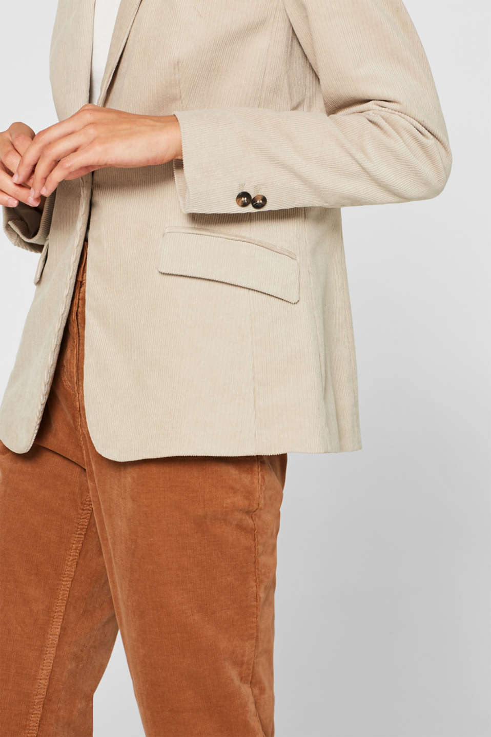 Blazers woven, TAUPE, detail image number 2