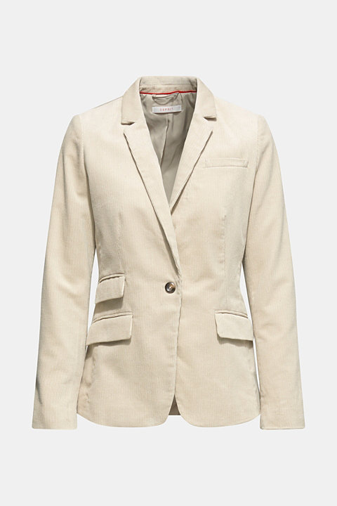 CORD mix + match blazer