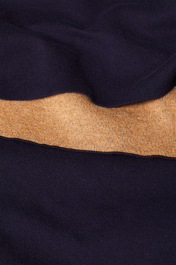 Double-faced jumper, NAVY, detail image number 3