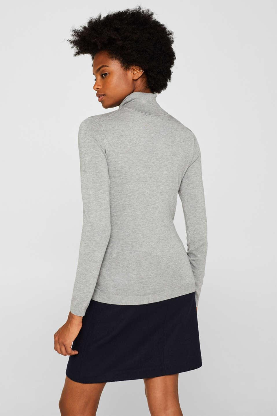 Sweaters, MEDIUM GREY 5, detail image number 3