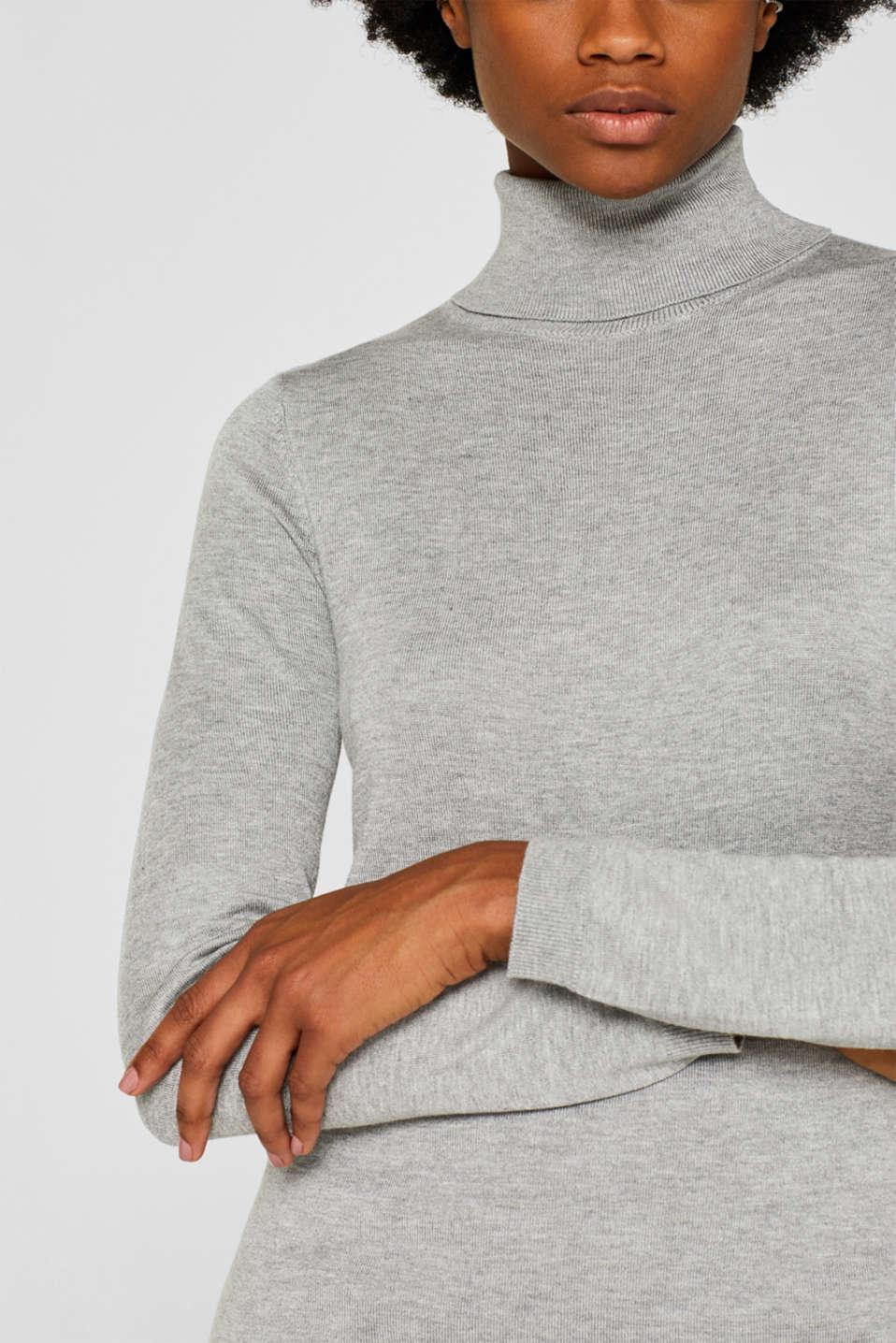 Sweaters, MEDIUM GREY 5, detail image number 2