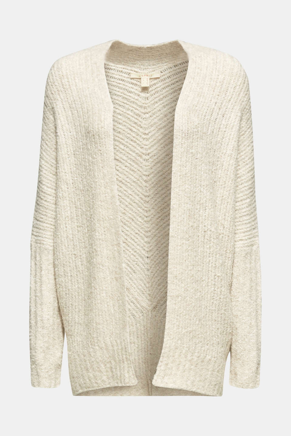 Sweaters cardigan, CREAM BEIGE 5, detail image number 6