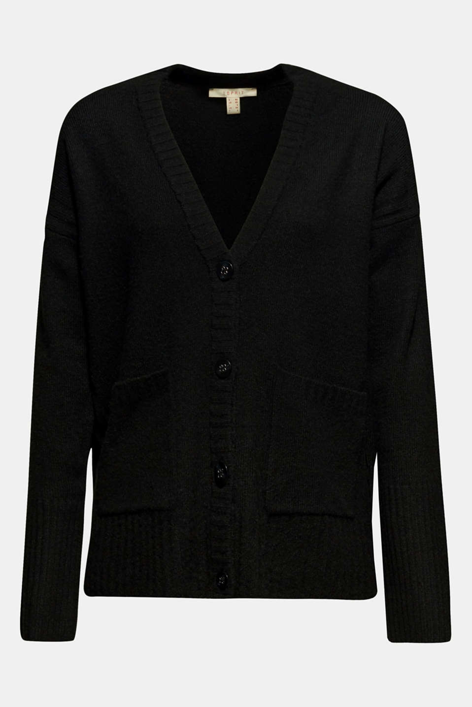 Sweaters cardigan, BLACK, detail image number 6