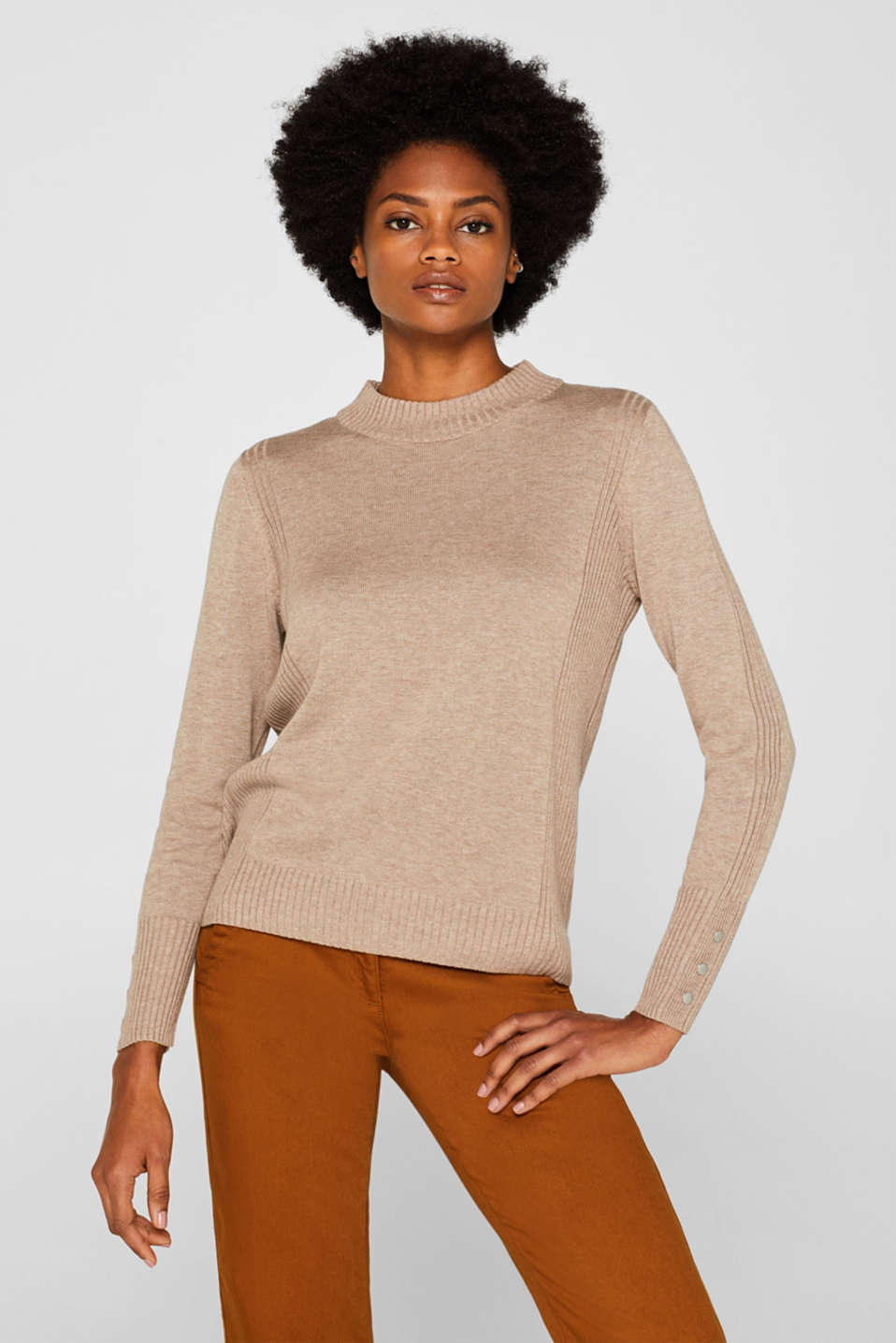 Esprit - Jumper with organic cotton