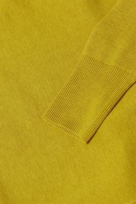 Jumper with organic cotton, PISTACHIO GREEN, detail
