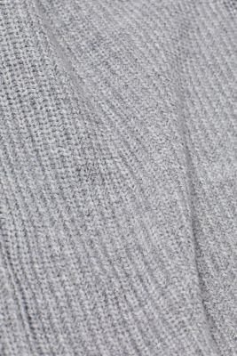 Wool blend: Chunky knit jumper, LIGHT GREY 5, detail