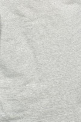 Melange shirt with glitter effects