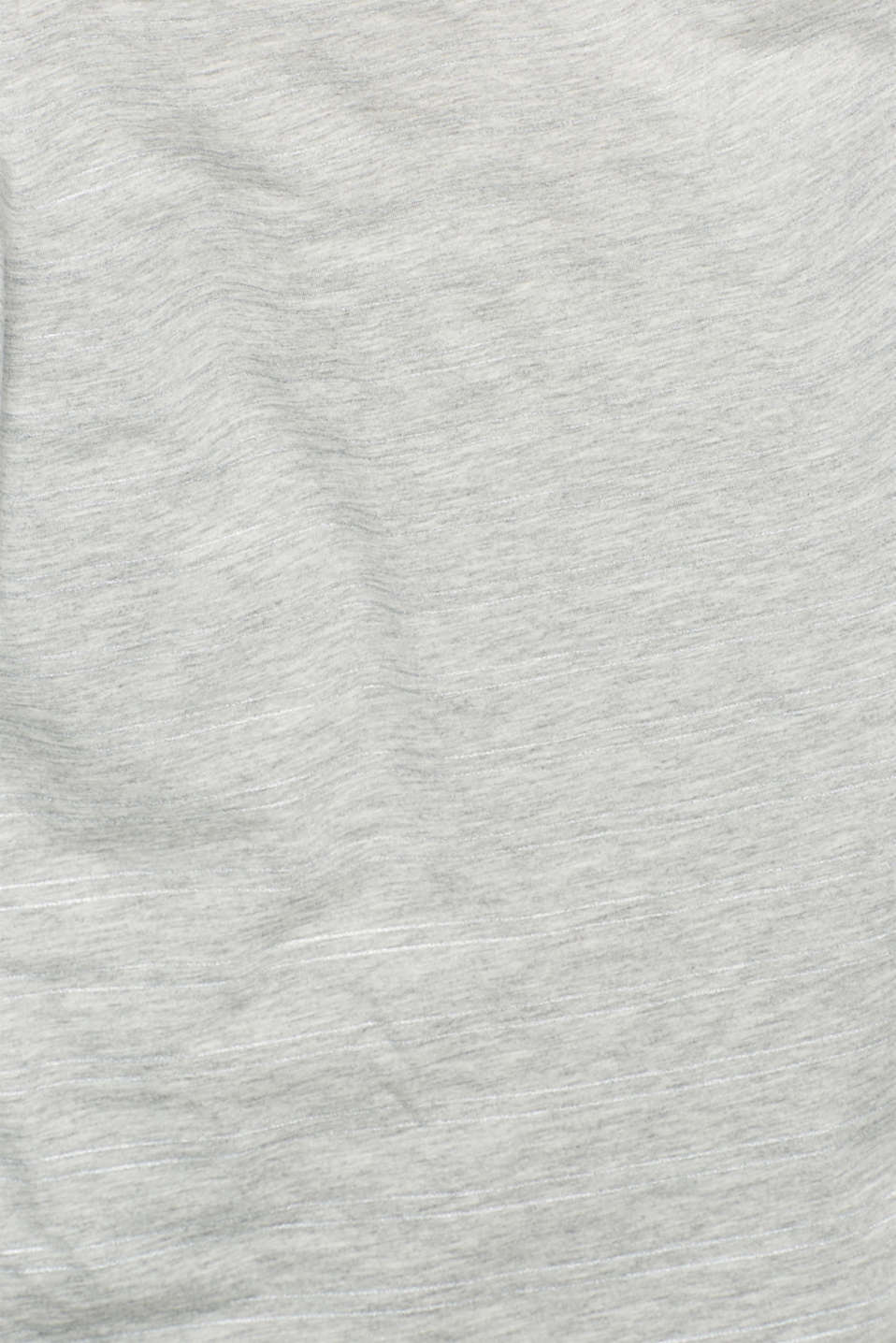 T-Shirts, LIGHT GREY 5, detail image number 4