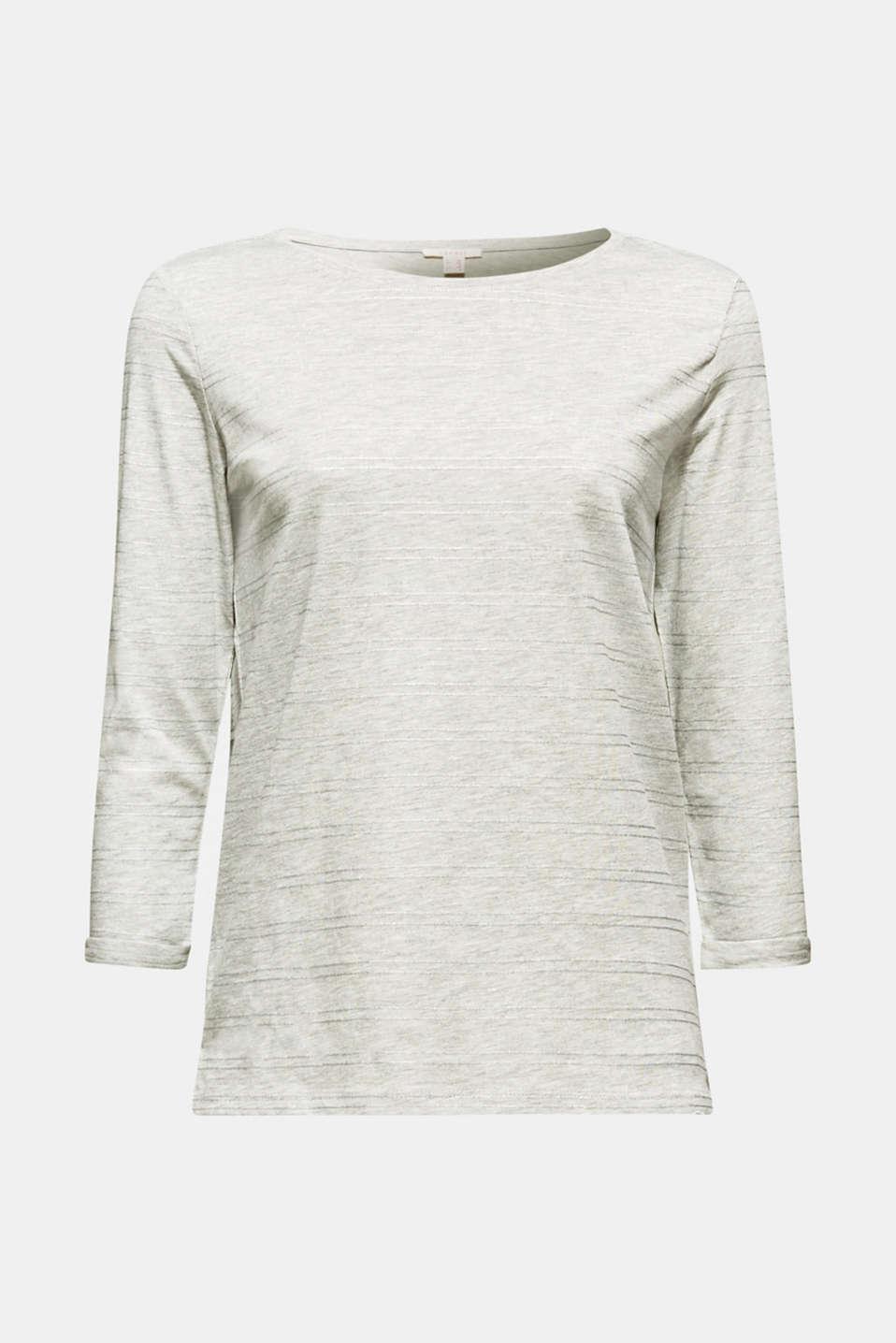 T-Shirts, LIGHT GREY 5, detail image number 6