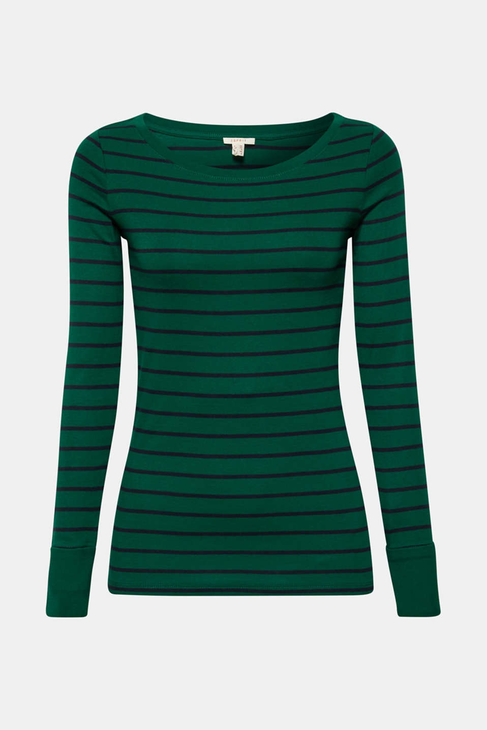T-Shirts, BOTTLE GREEN 4, detail image number 7