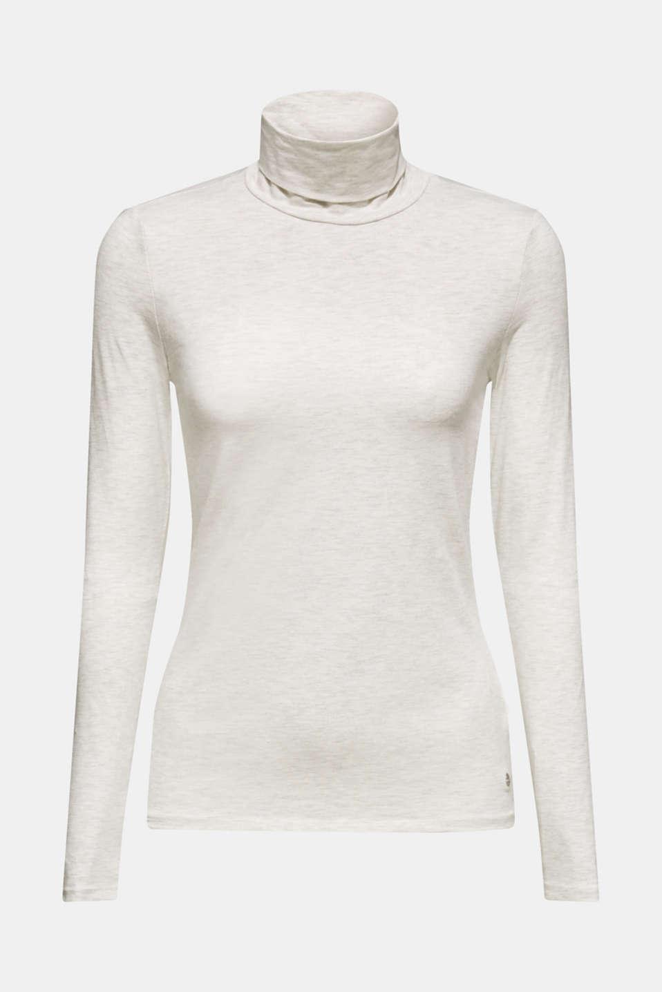 T-Shirts, LIGHT BEIGE 5, detail image number 6