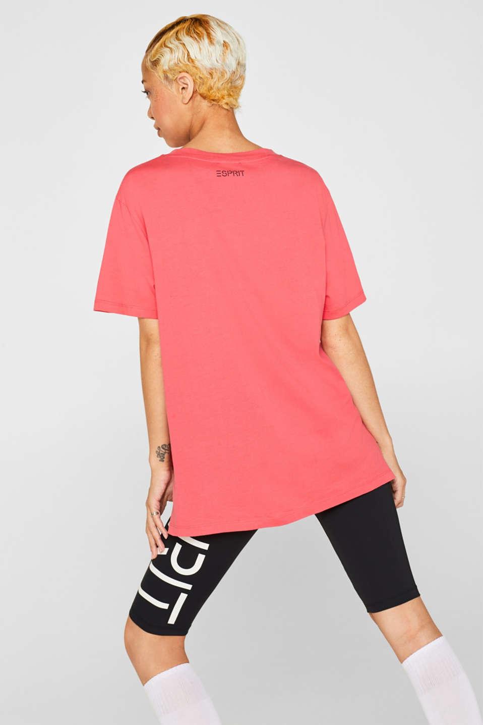 #throwback unisex logo top, 100% cotton, PINK, detail image number 3