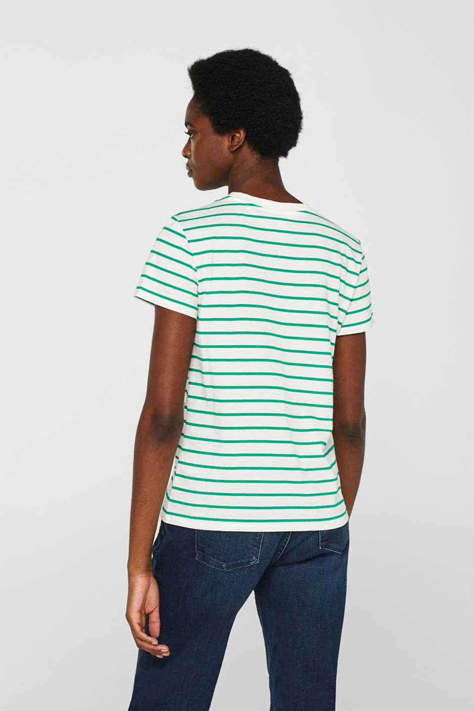 Logo top with organic cotton, GREEN, detail image number 3