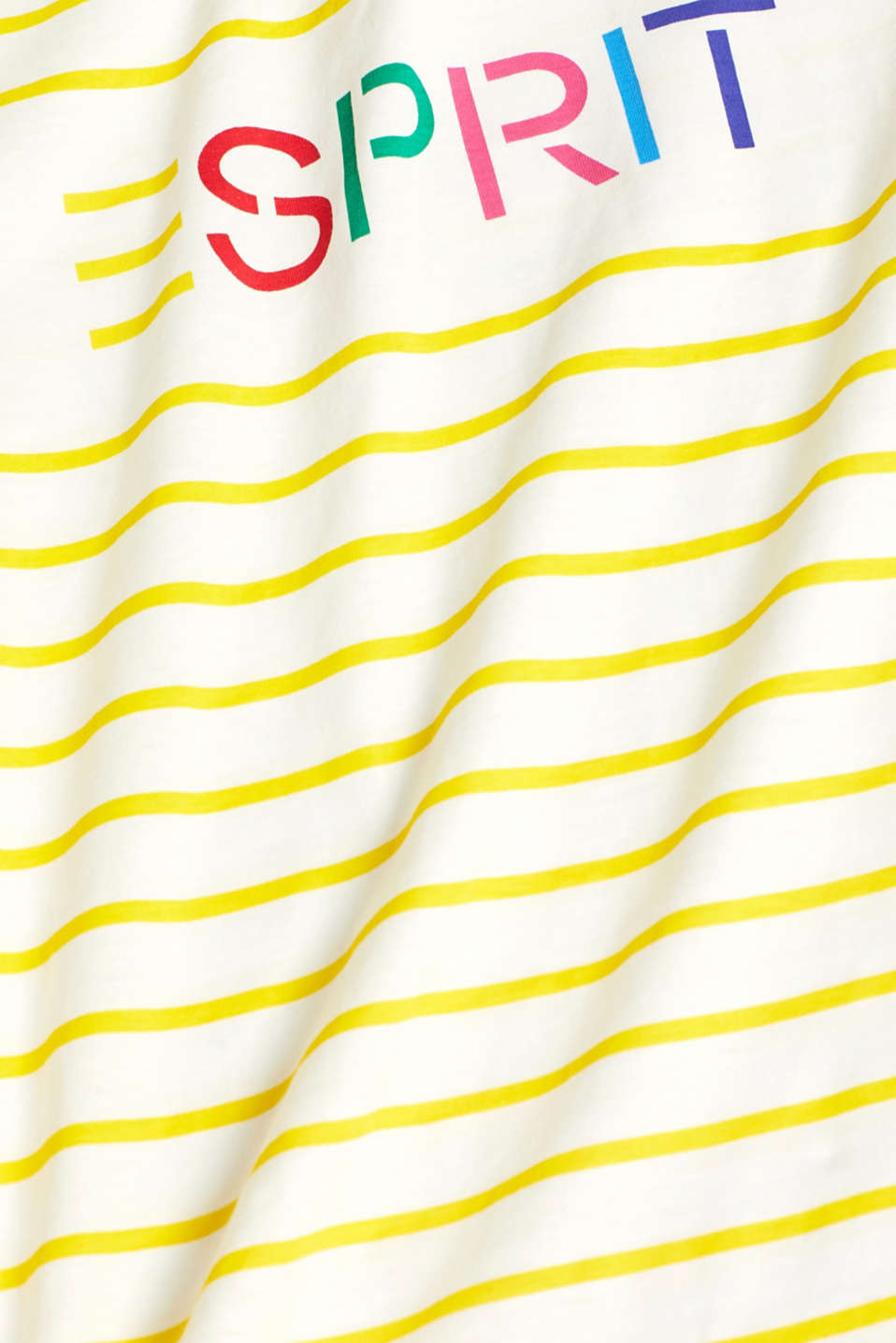 Logo top with organic cotton, BRIGHT YELLOW, detail image number 4