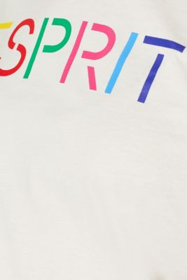 Logo print T-shirt in 100% cotton