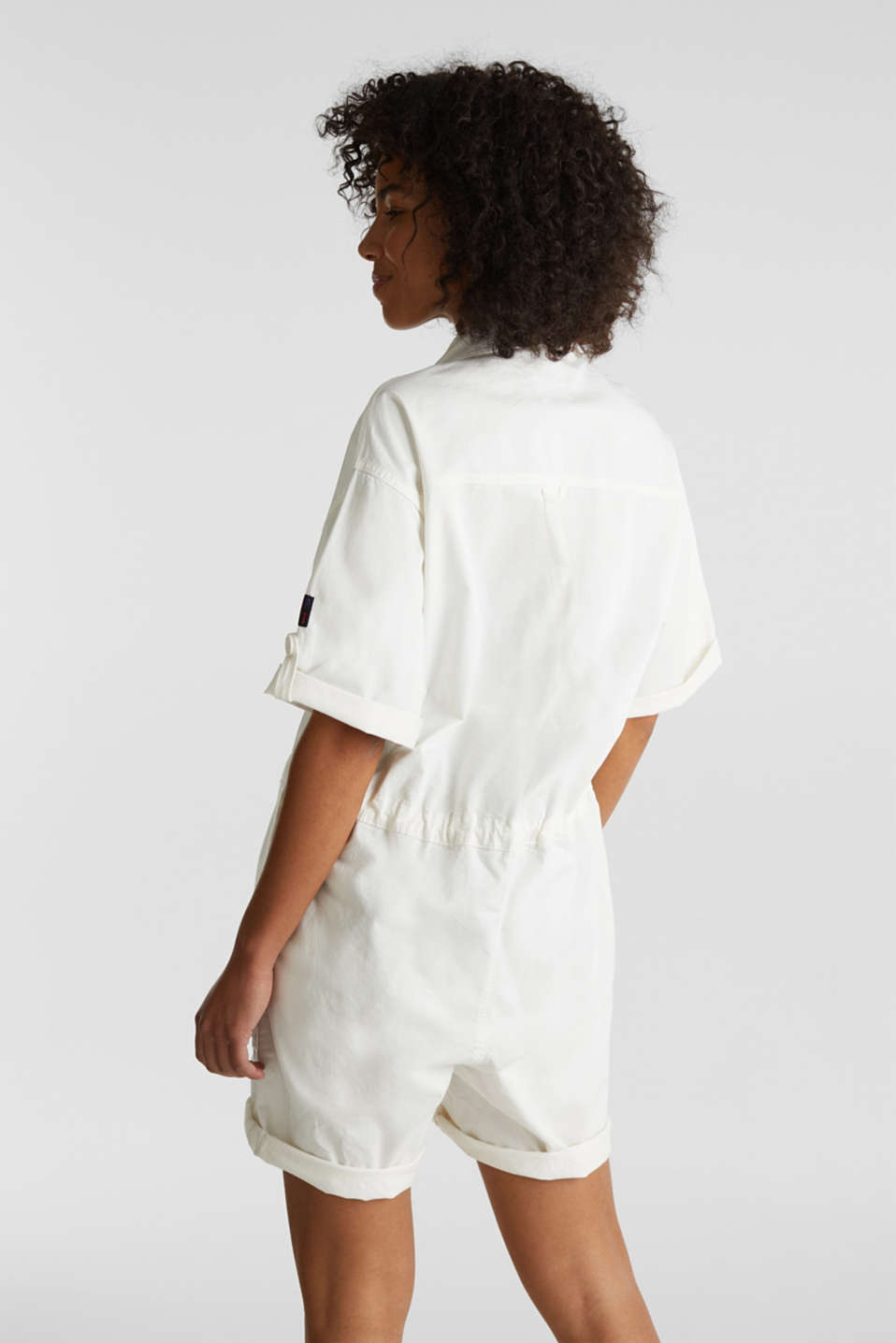Overalls woven, OFF WHITE, detail image number 3