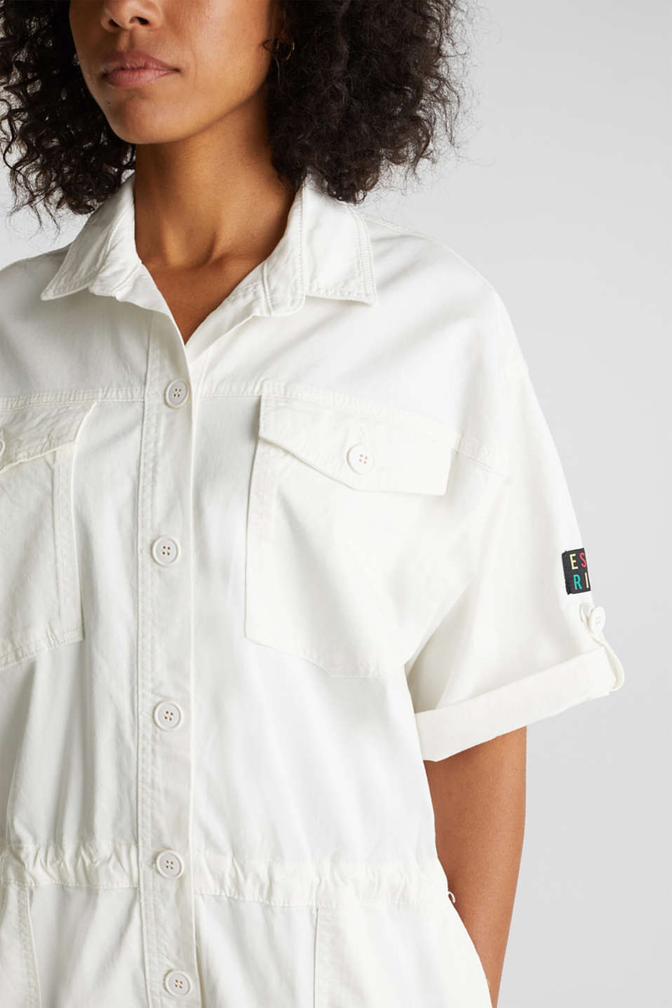 Overalls woven, OFF WHITE, detail image number 2