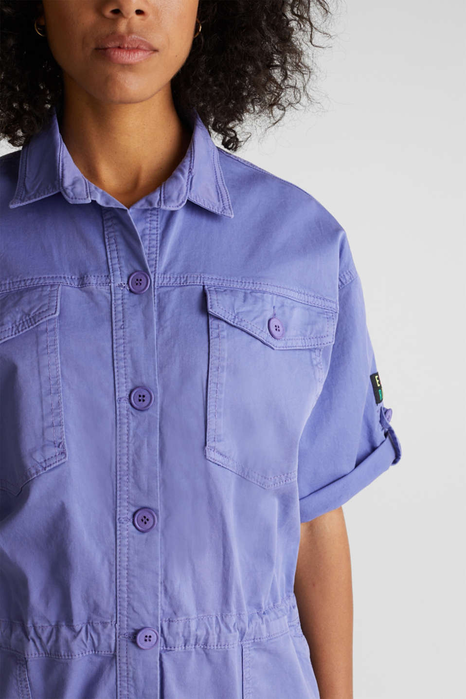Overalls woven, PURPLE, detail image number 2