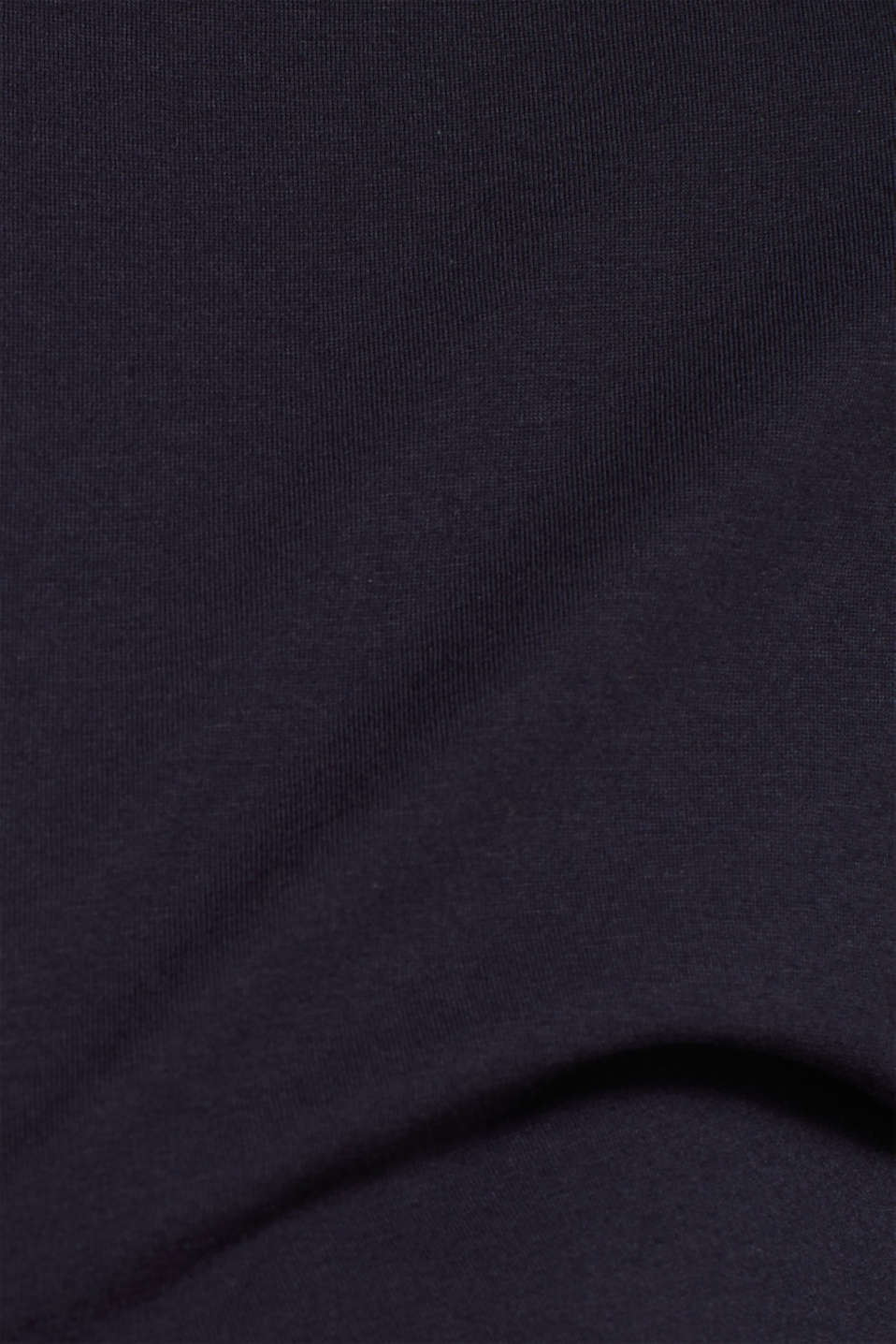 Two-pack: Long sleeve top with organic cotton, NAVY, detail image number 3