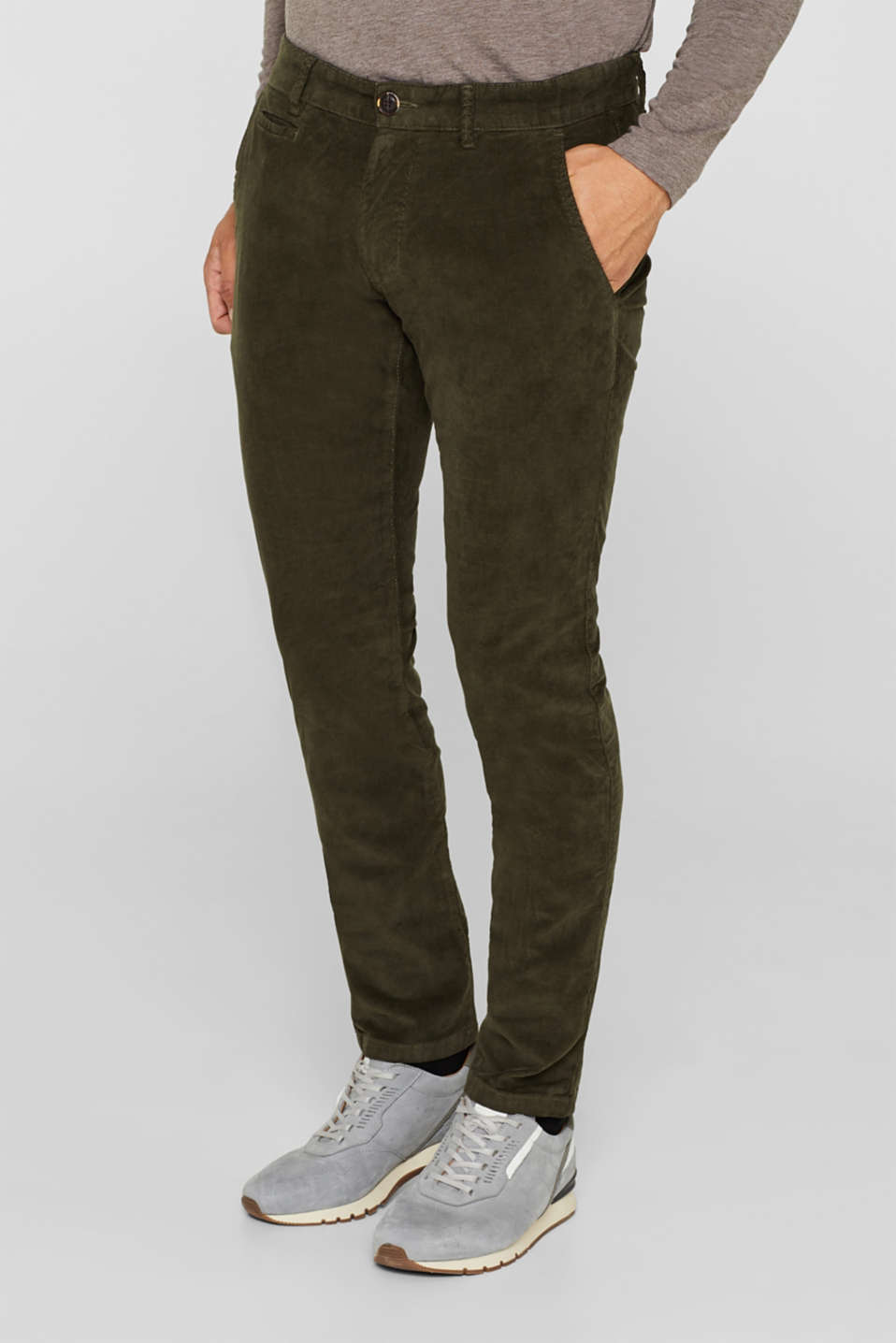 Corduroy trousers made of 100% cotton
