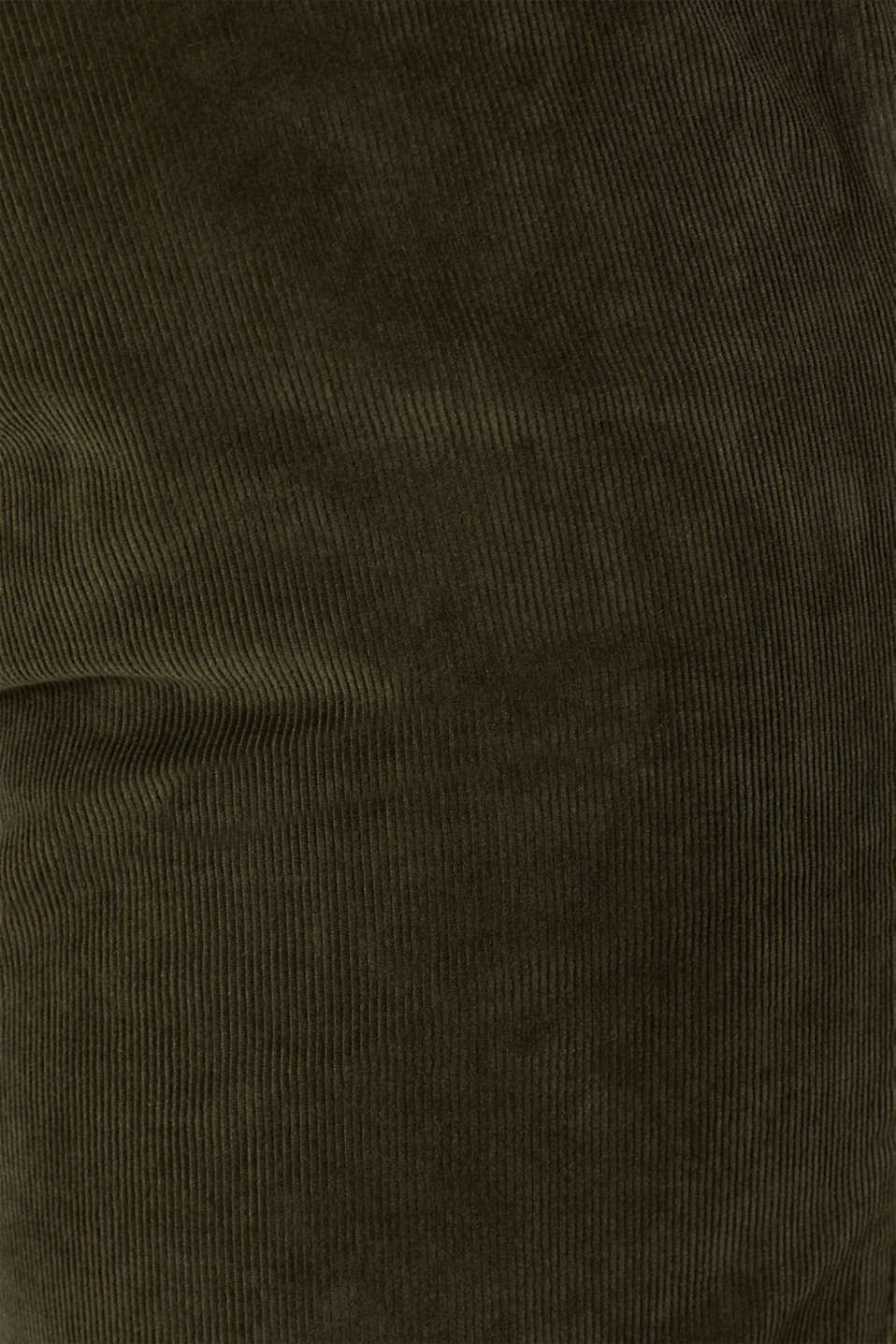 Corduroy trousers made of 100% cotton, OLIVE, detail image number 4