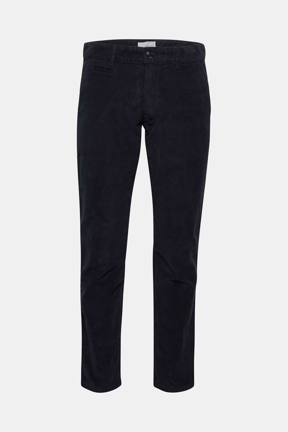Corduroy trousers made of 100% cotton, NAVY, detail image number 5