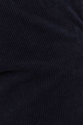 Corduroy trousers made of 100% cotton, NAVY, detail