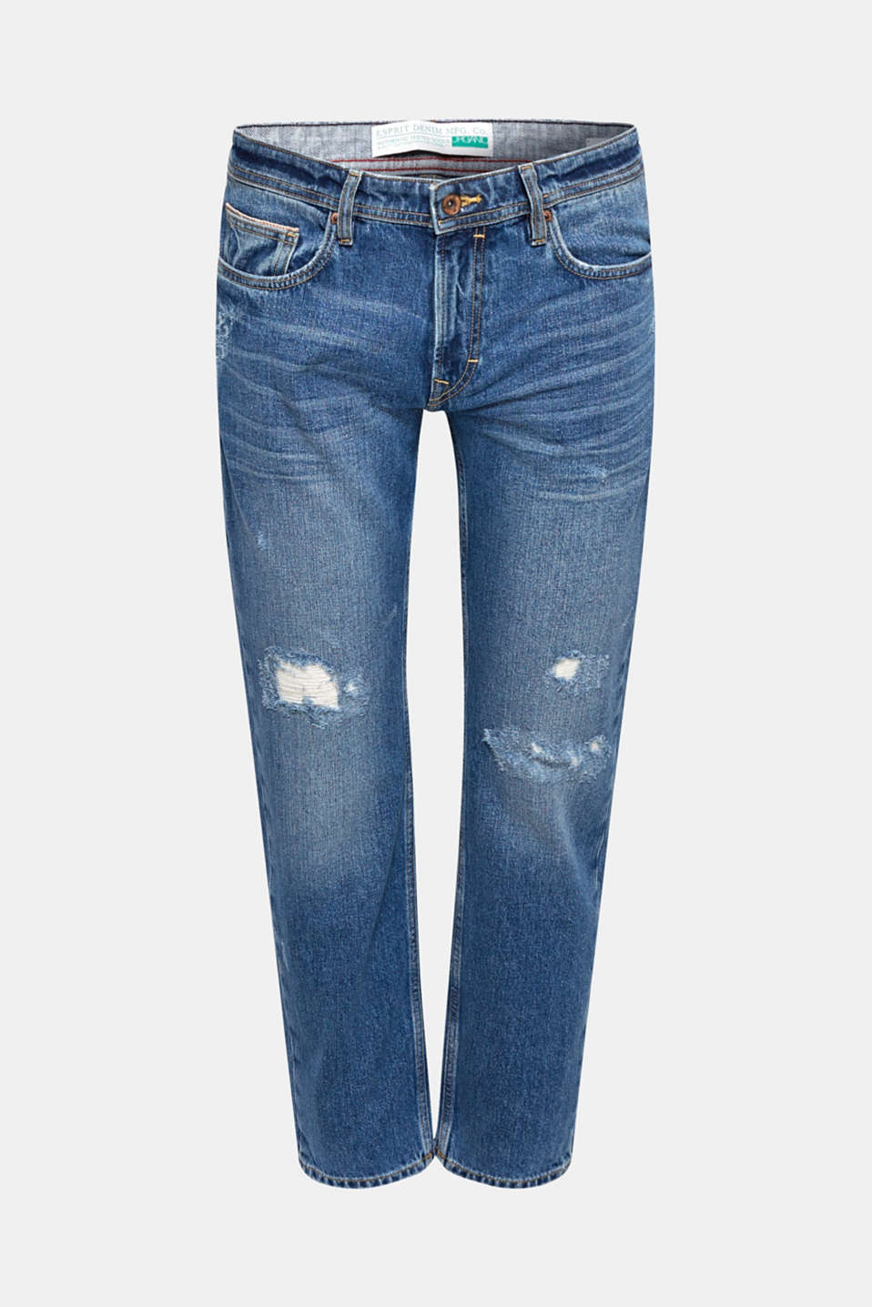 Pants denim, BLUE MEDIUM WASH, detail image number 5