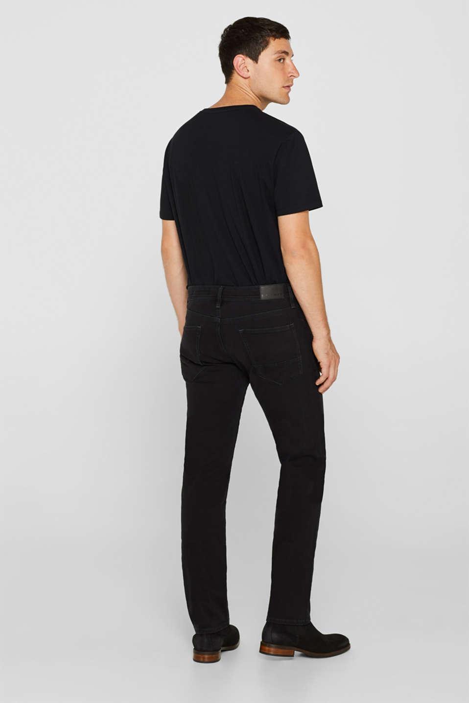 Pants denim, BLACK DARK WASH, detail image number 1