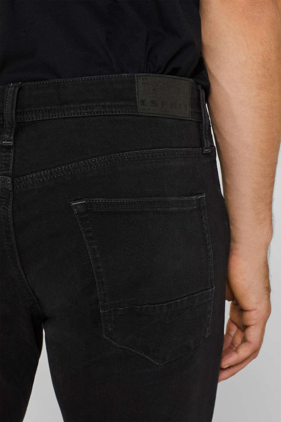 Pants denim, BLACK DARK WASH, detail image number 3