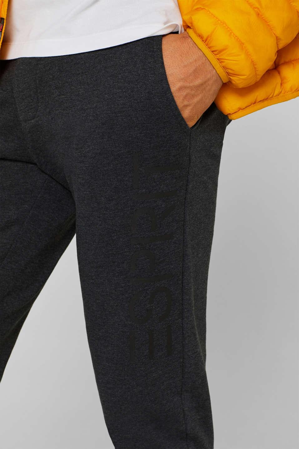 Pants knitted, DARK GREY, detail image number 3