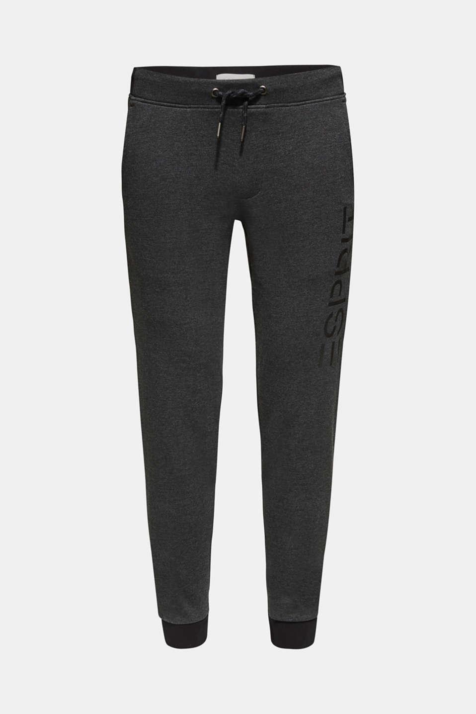 Pants knitted, DARK GREY, detail image number 4