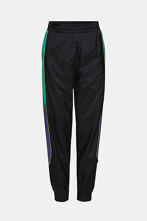 #throwback tracksuit bottoms made of nylon