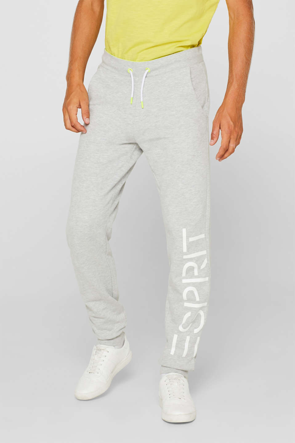 Esprit - Sweatbroek met logoprint