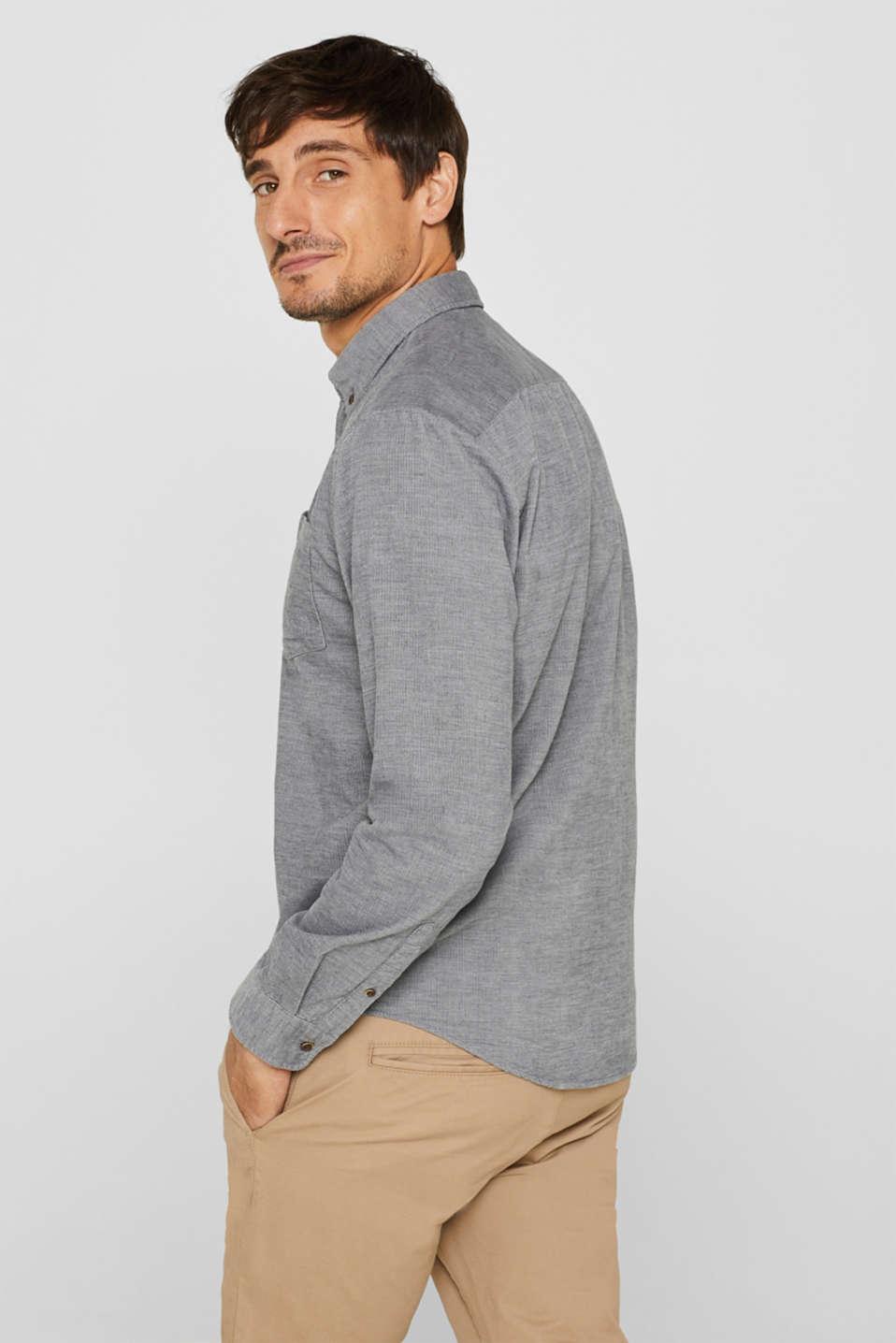 Shirts woven Regular fit, MEDIUM GREY, detail image number 3