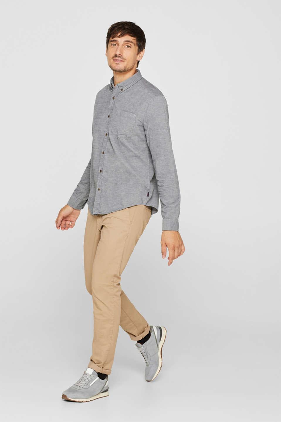 Shirts woven Regular fit, MEDIUM GREY, detail image number 5
