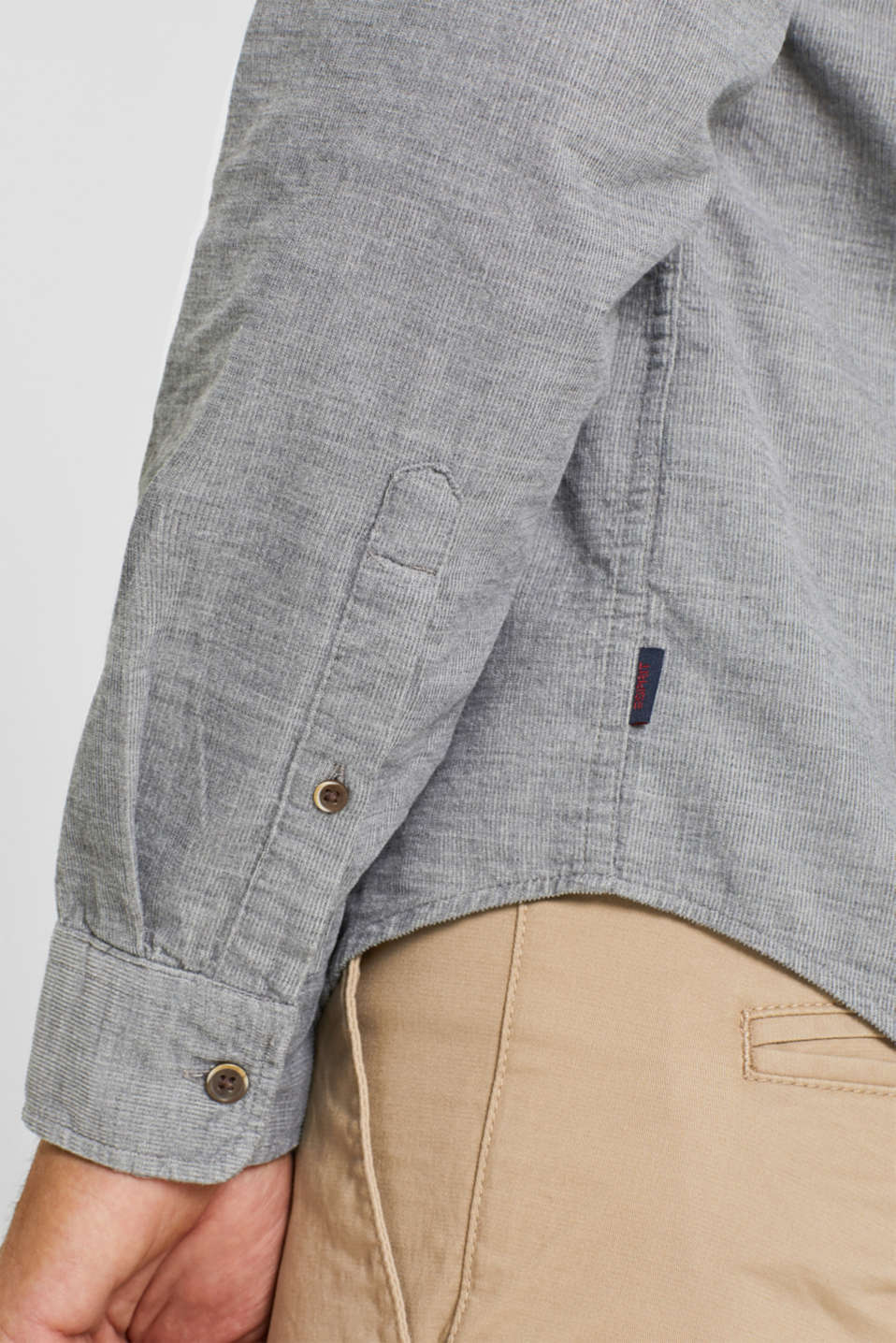 Shirts woven Regular fit, MEDIUM GREY, detail image number 2